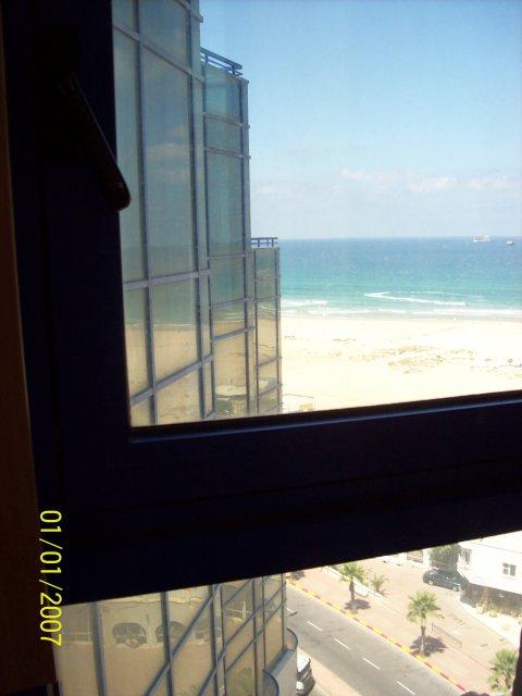 Вид из отеля Ashdod Beach, Израиль