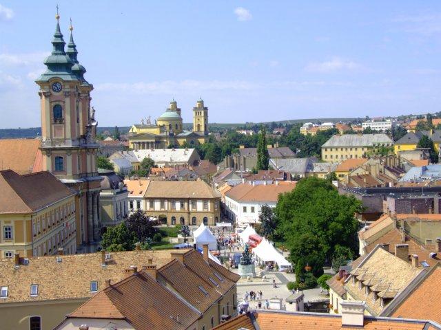 Город Эгер, Венгрия