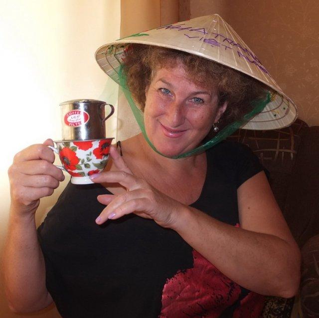 Капалка для приготовления кофе по вьетнамски