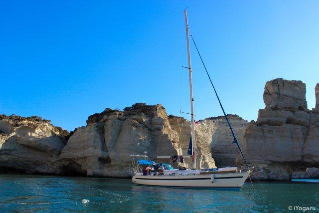 Яхт - Йога - Кайт путешествие по островам Греции. Записки с бортового журнала