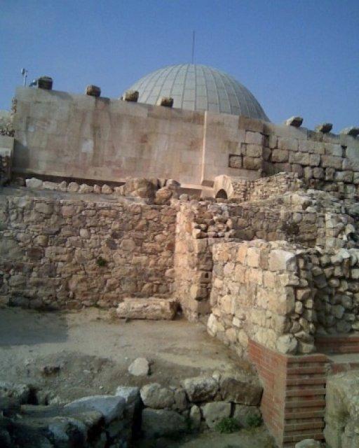 Окрестности Аммана. 8 век. Иордания