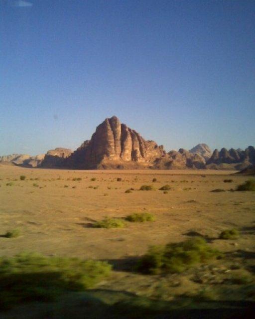 Семь столпов мудрости или Гора Лоренса Аравийского, Иордания