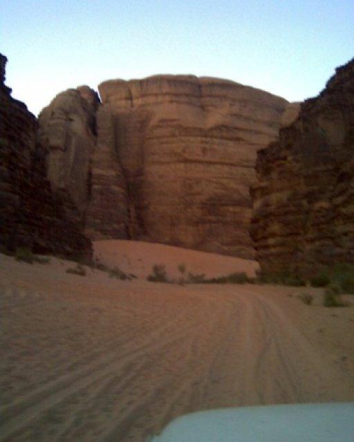 Горы в пустыне Вади Рам, Иордания