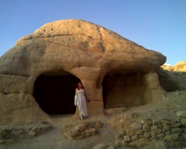 Камень-череп, Иордания