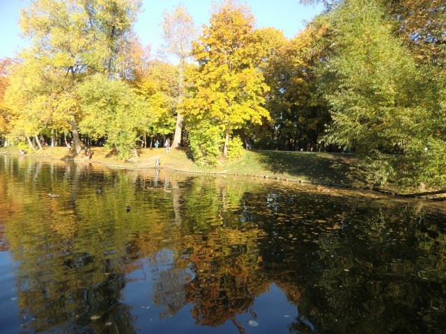 9 октября 2010 в Воронцовском парке.