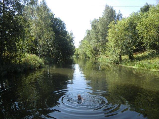 Клин. Река Сестра. 31.07.2010.
