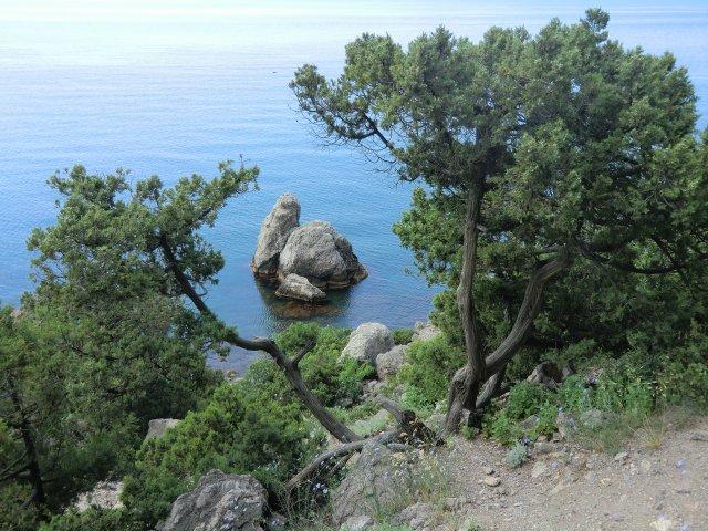 Фантастически красивая природа Крыма.