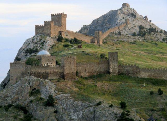 Крым. Судак. Генуэзская крепость.