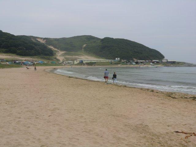 Песчаные пляжи недалеко от Находки.
