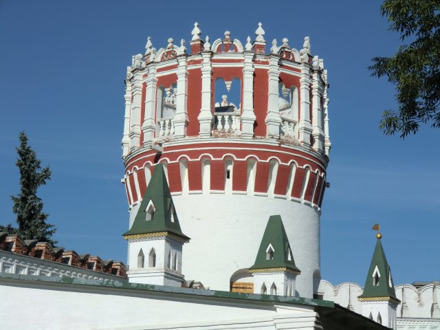Напрудная башня и стрелецкие караульни.
