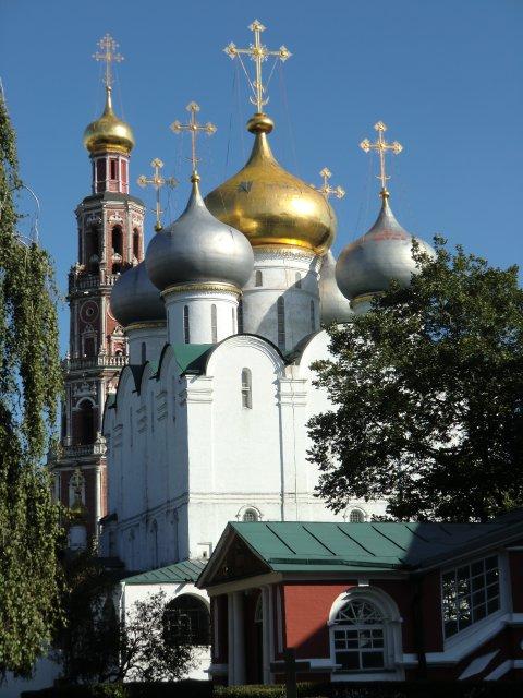 Смоленский собор и колокольня.