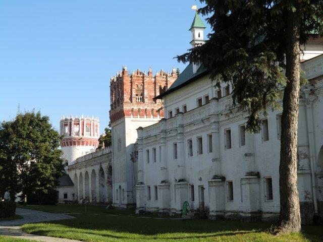 Мариинские палаты, Воробьёвская и Чеботарная башни.