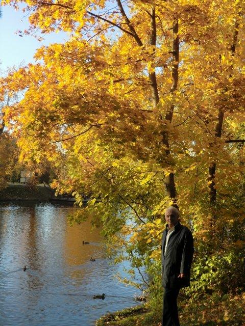 Осенью 2011-го в Воронцовском парке.