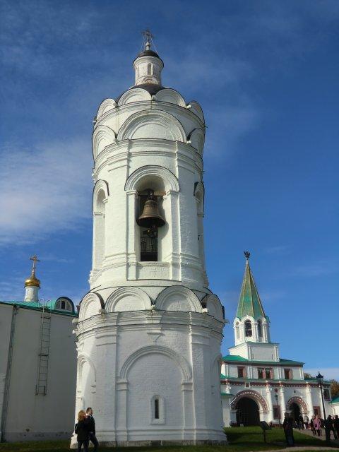 Колокольня служила звонницей церкви Вознесения (первая половина XVI в.)