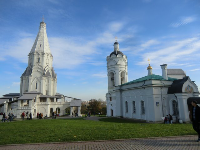 Церковь Вознесения Господня и колокольня.