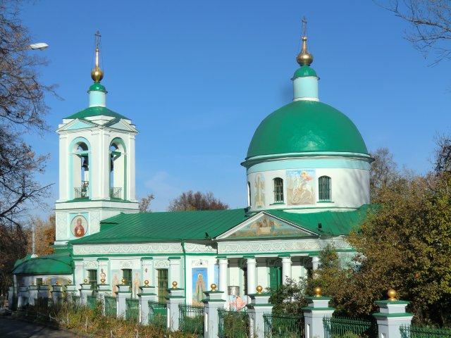 Храм Троицы Живоначальной в Воробьёве. 1811-1813 г.