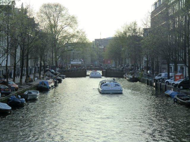 Каналы Амстердама.