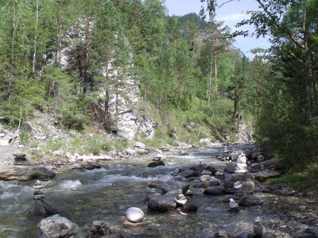 Горная речка Кынгарга.