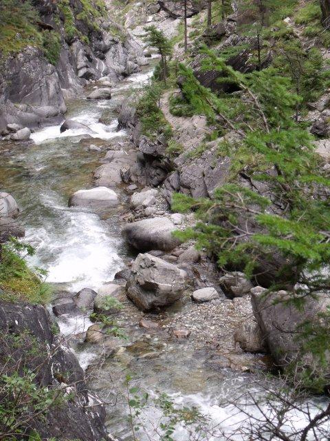 Ущелье реки Кынгарги.