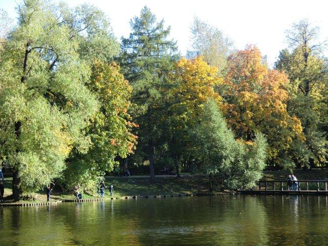 25 сентября 2010 в Воронцовском парке.