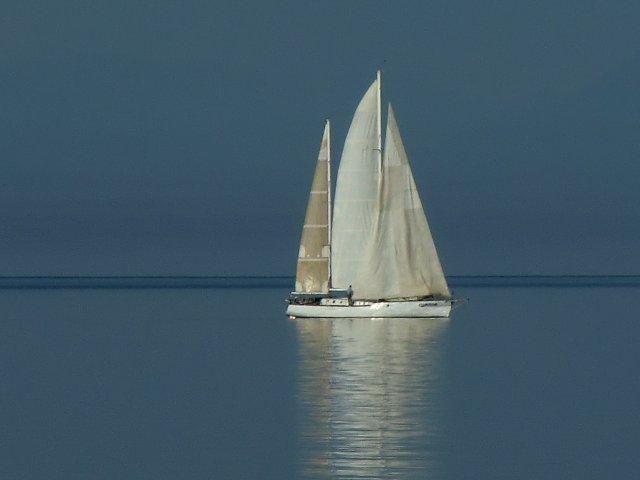 """""""Белеет парус одинокий в тумане моря голубом..."""""""