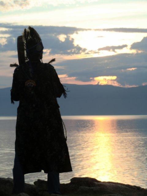 """""""Шаман"""" на Ольхоне. Август 2011."""