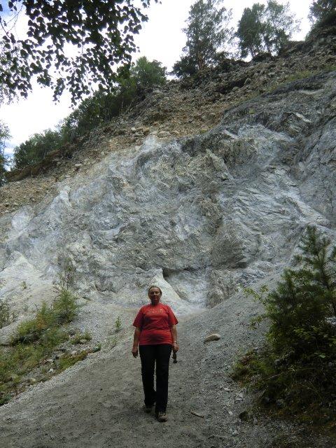В мраморном каньоне Аршана.