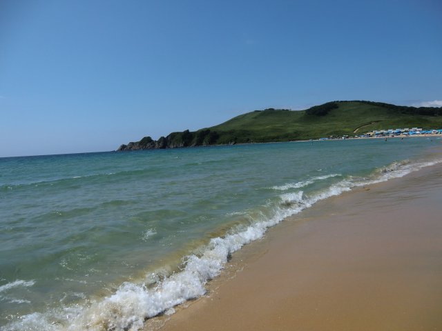 Песчаные пляжи Ливадии.