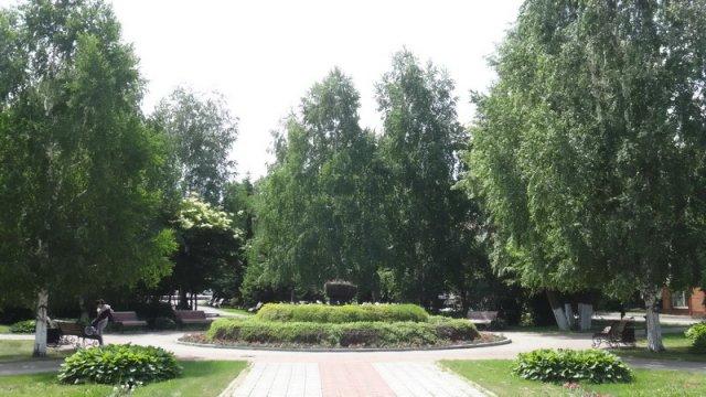 сквер Г.И. Чорос- Гуркина