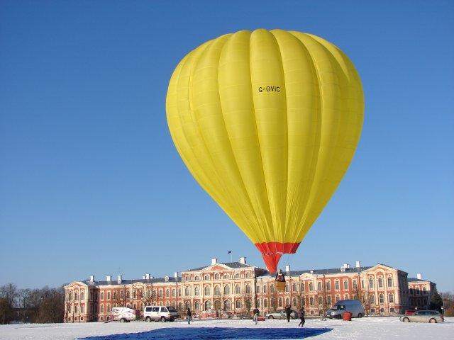 Просто зима в Латвии - Елгавский замок