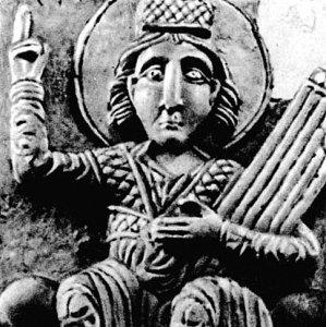Давид с церкви Покрова на Нерли