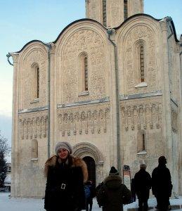 Фасады Димитриевского собора.