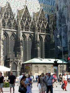 Вена собор Святого Стефана