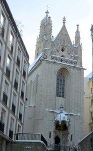 Вена готическая церквь -  Мария ам Гештаде