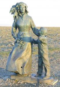 Памятник детей всего мира, желающих мир