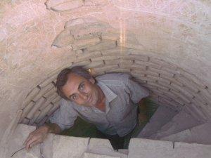 По лестнице на вершину минарета