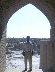 Мой друг Мохаммед, который показал мне старый город Арг-е Бам