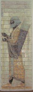 Восстановлены цветные рельефы в историческом музее в городе Шуши (древней Сузы)