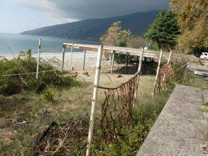 Гагра 2013 осень.Гор пляж.
