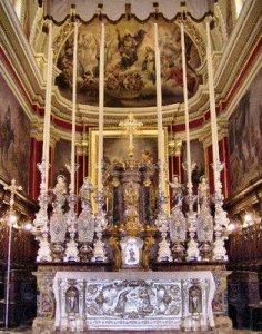 Главный алтарь Кафедрального собора халь-Таршина
