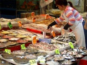 Рыбный рынок. Дары моря