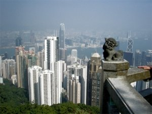 Гонконг с Пика Виктория