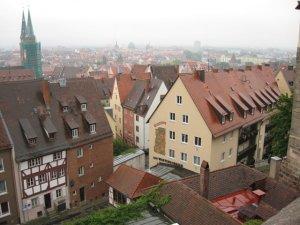 Нюрнберг - панорама города