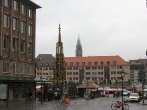 Нюрнберг - рыночная площадь