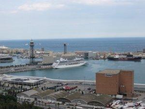 Барселона - панорама порта