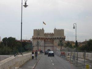 Валенсия - башни Серранос