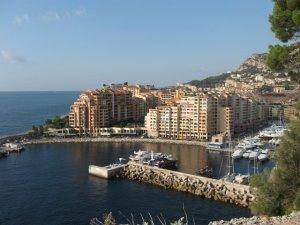 Монако - причал для яхт