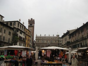 Рыночная площадь, Верона