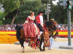 Цветочная битва, Валенсия
