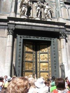 Золотые ворота Баптистерия